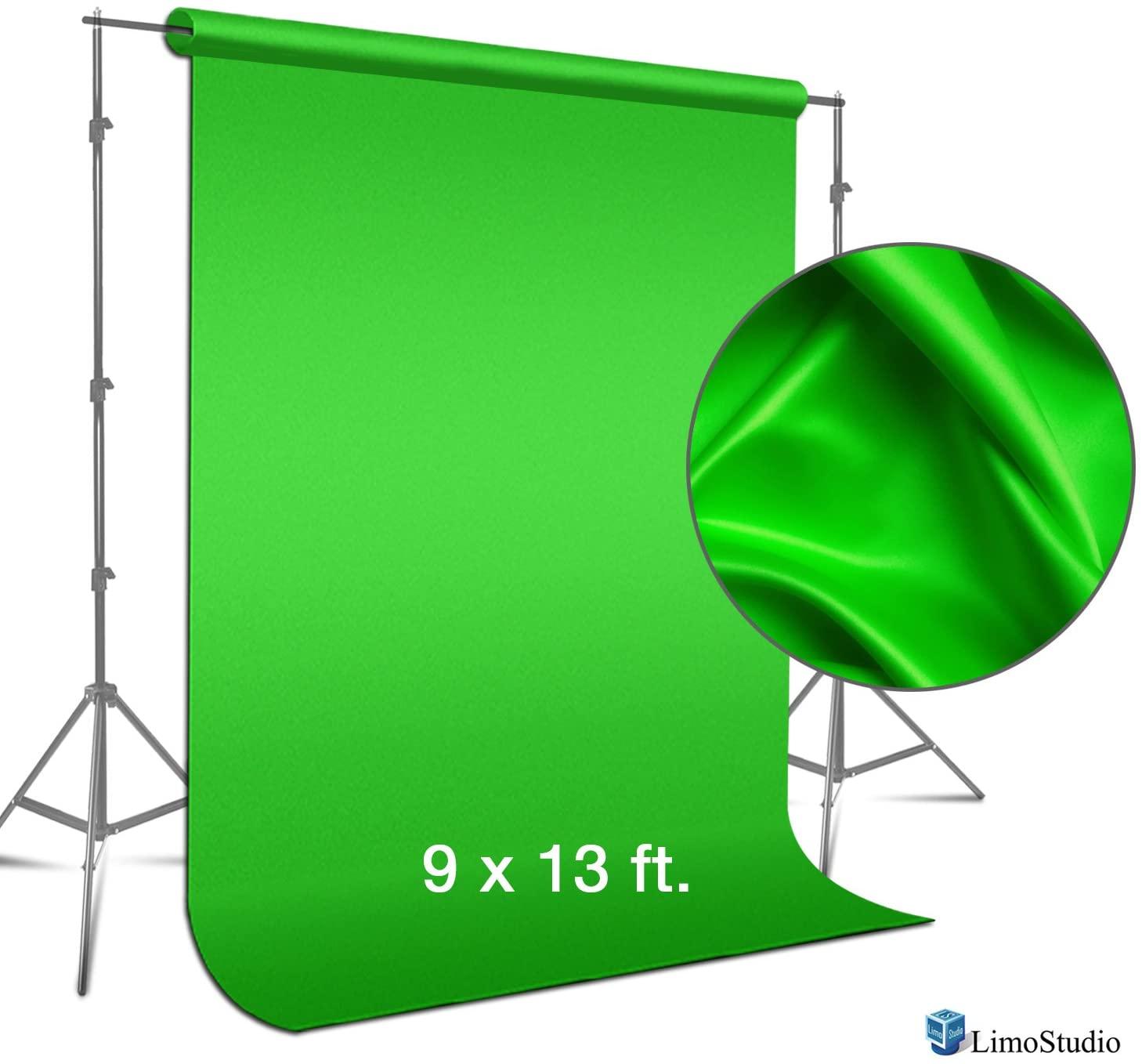 professional video setup greenscreen