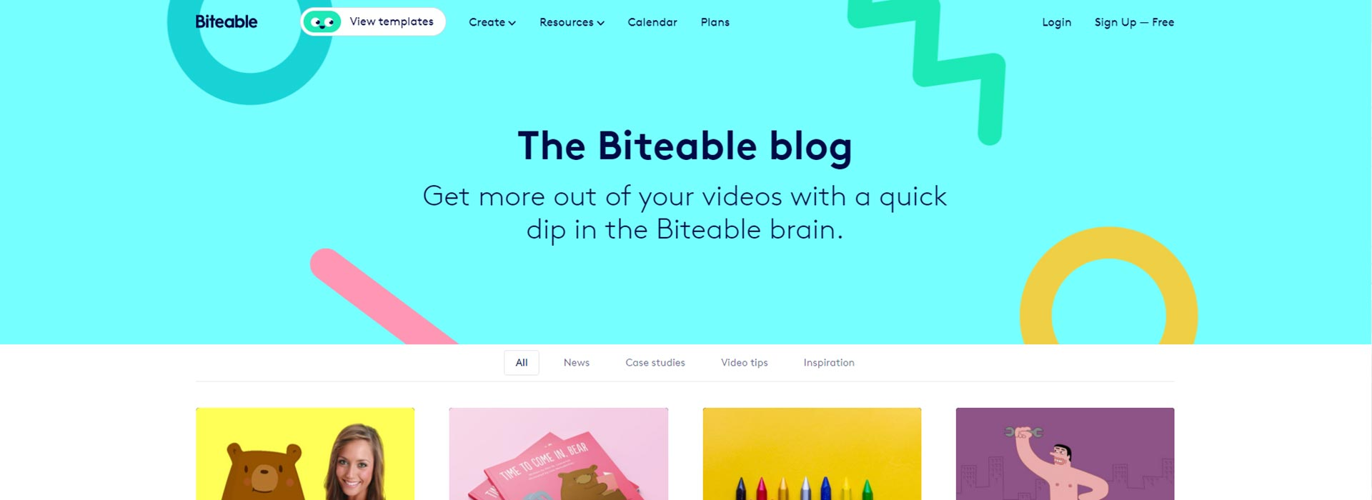 biteable blog