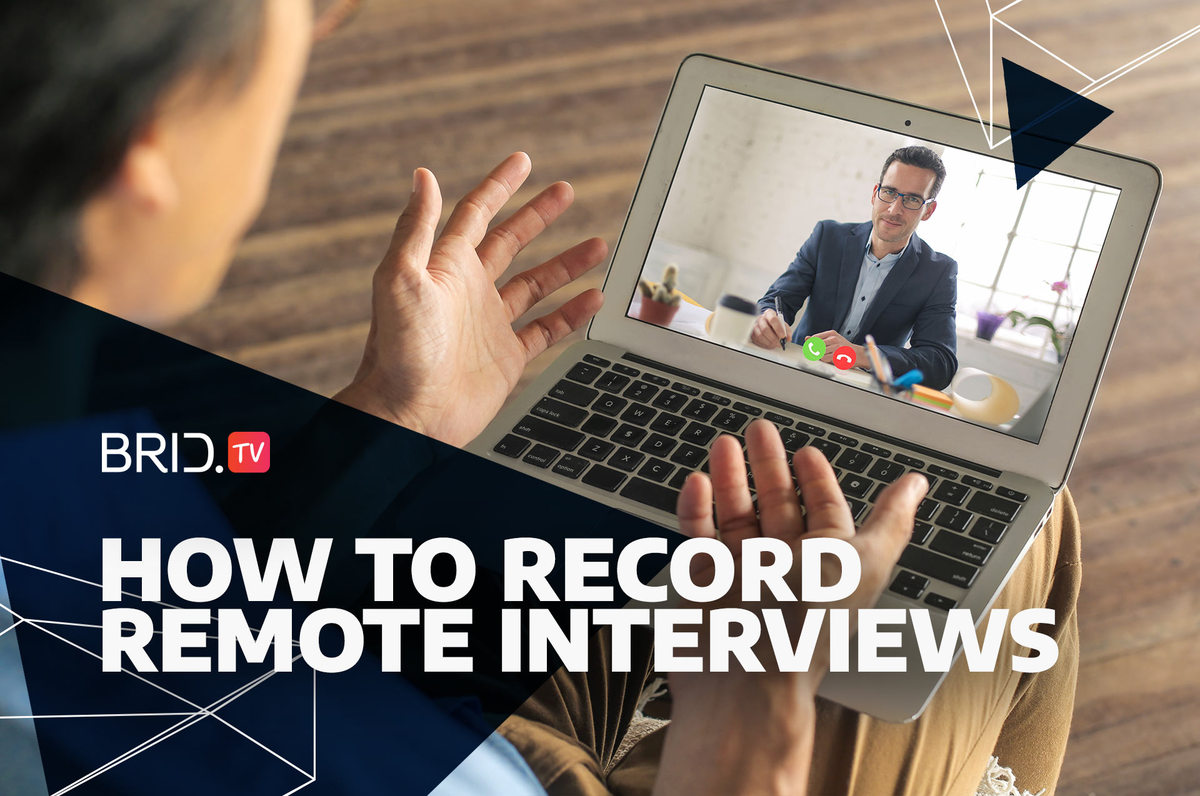 how to record remote interviews