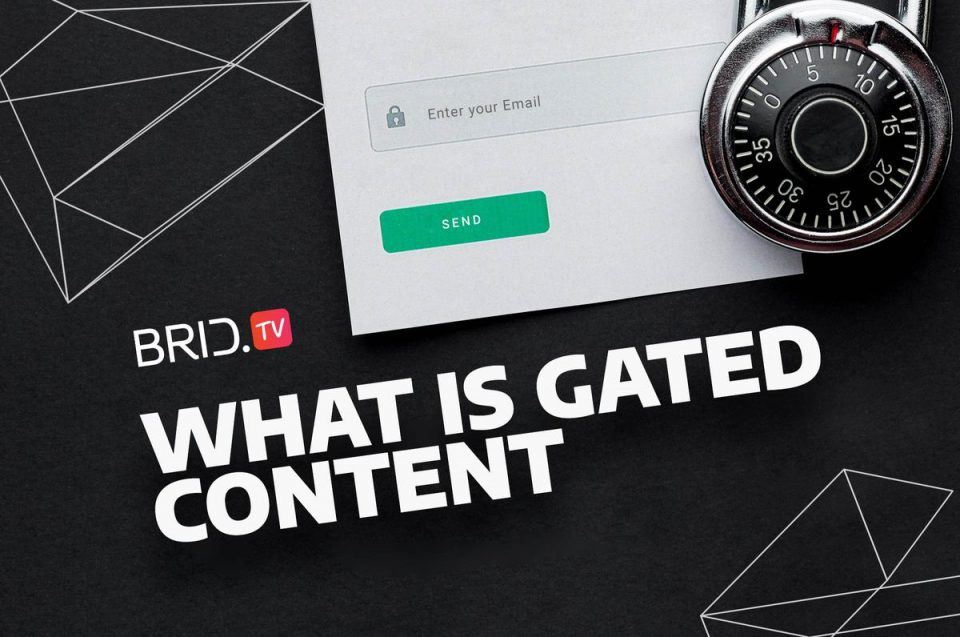 what is gated content