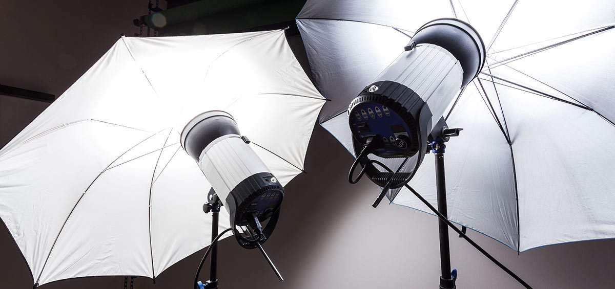 professional video studio lighting