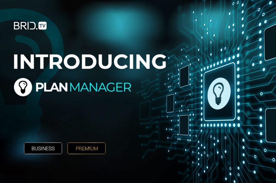 brid.tv plan manager