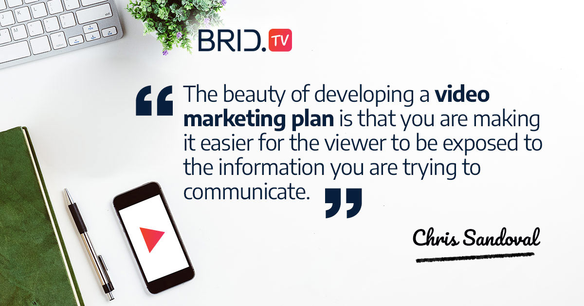 video marketing quote - chris sandoval