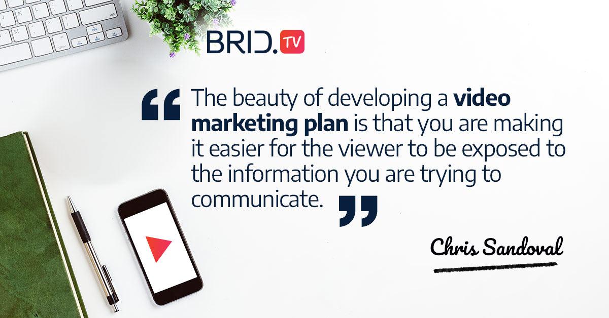 video marketing quote - chris sandoval