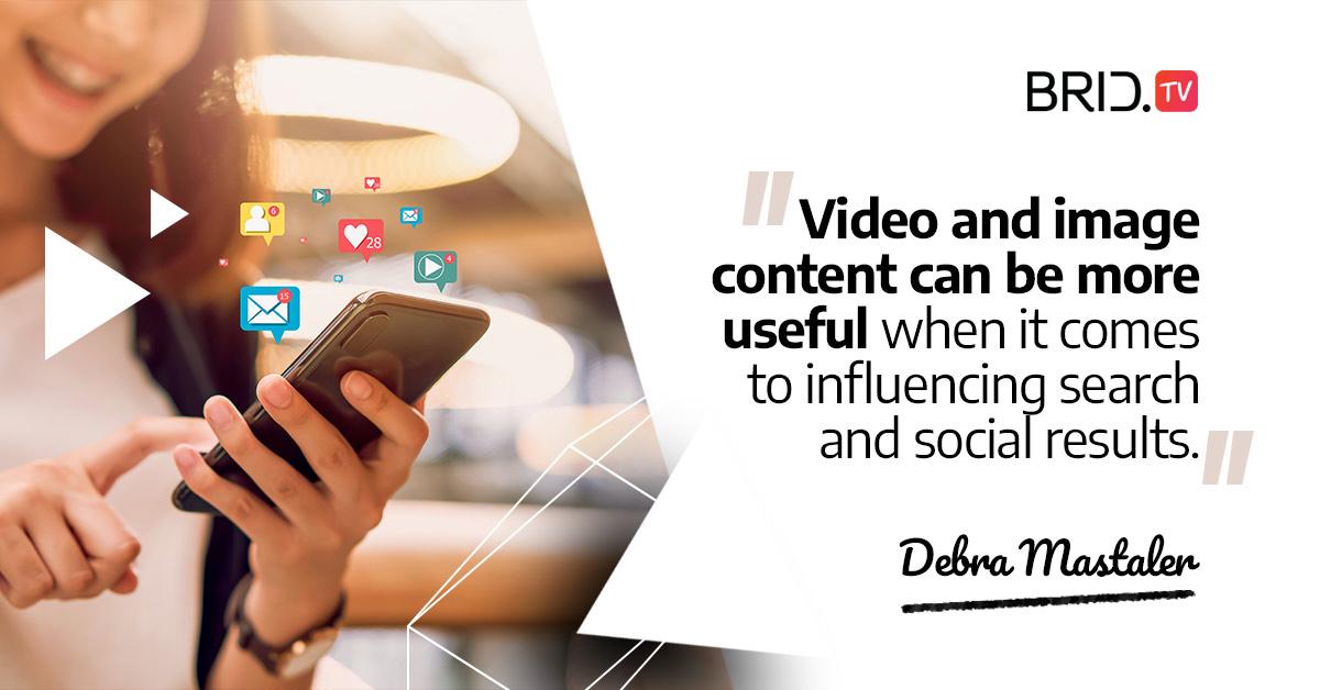video marketing quote - debra mastaler