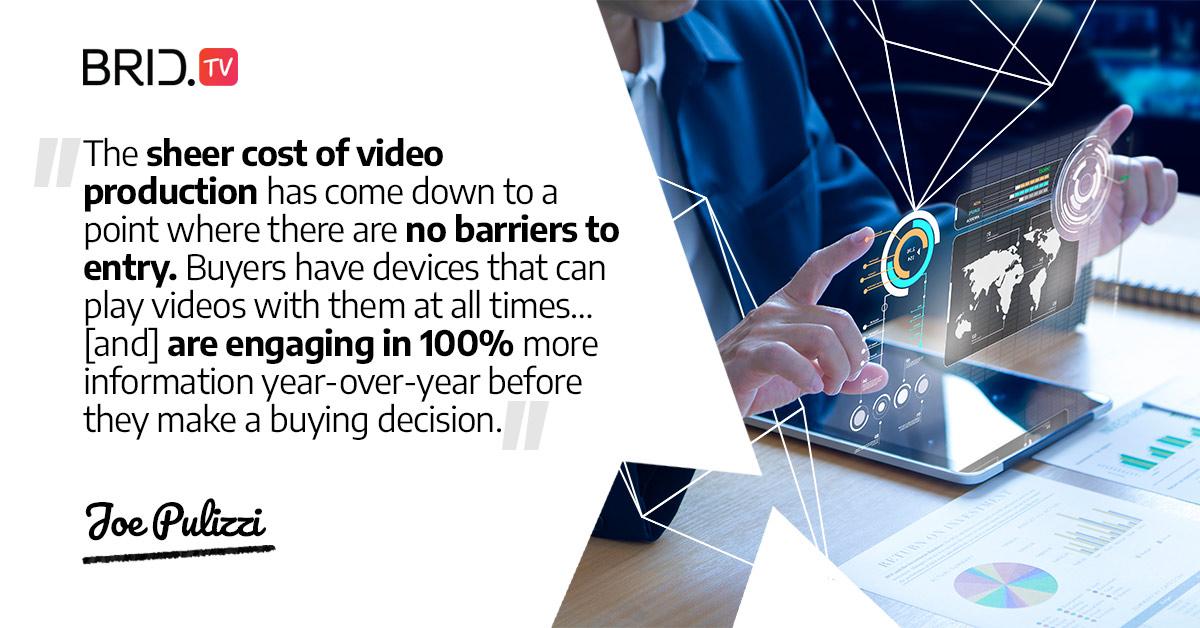 video marketing quote - joe pulizzi