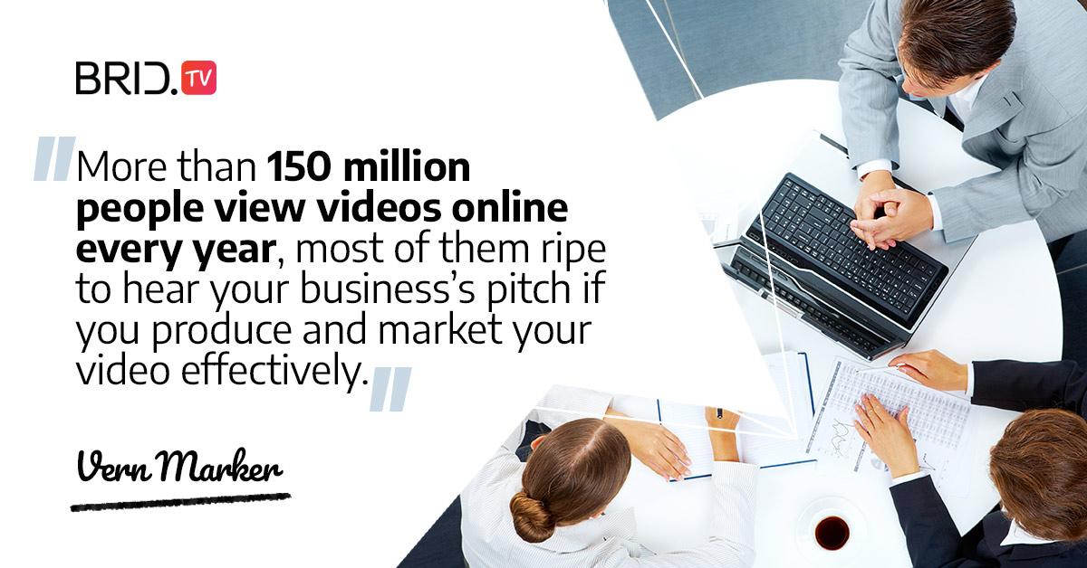 video marketing quote - vern marker