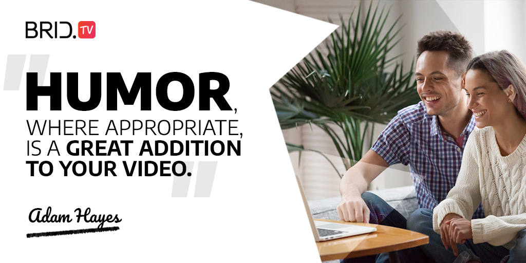 video marketing quote - adam hayes