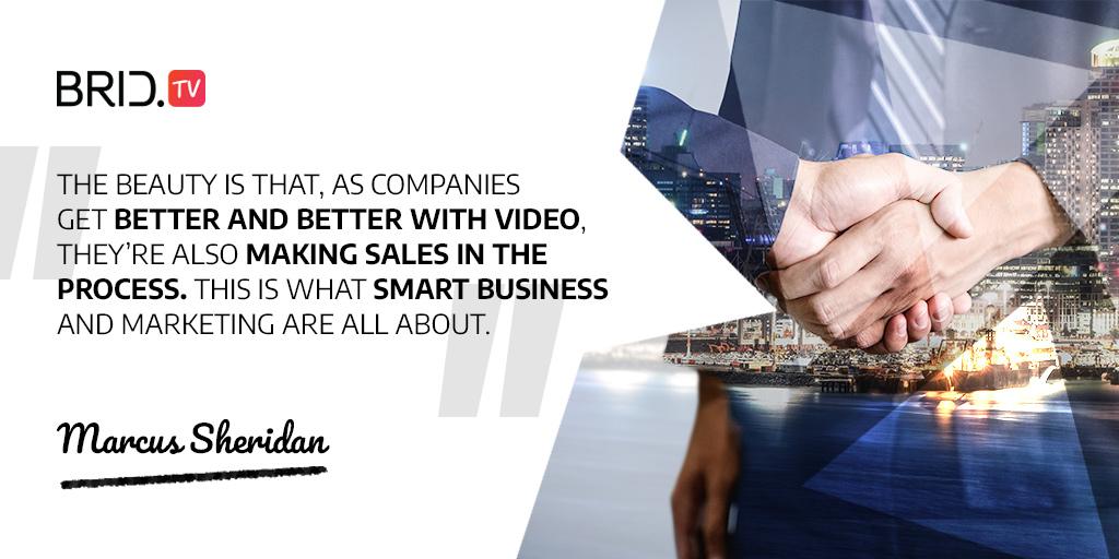 video marketing quote - marcus sheridan