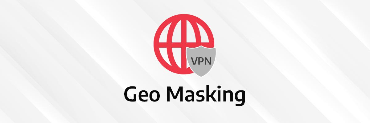 visual illustration of geo masking