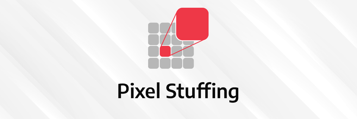 visual illustration of pixel stuffing