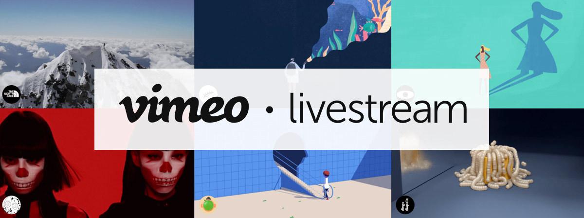 vimeo livestream logo