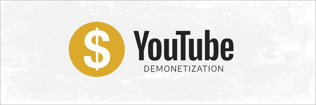 youtube demonetization icon
