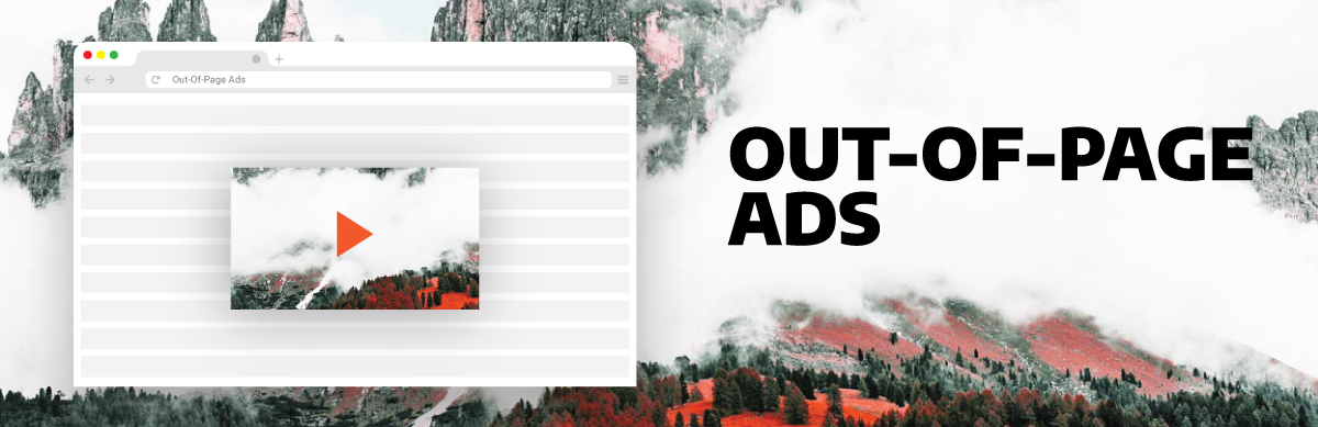 image illustrating out-of-page ads