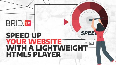 speed up your website with a lightweight html5 player