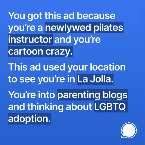 controversial signal ad example 2