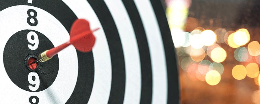 a bullseye in darts