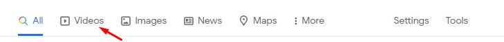 "google ""video"" search"