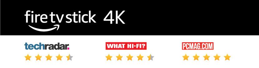 Amazon FireTV Stick 4K Review scores